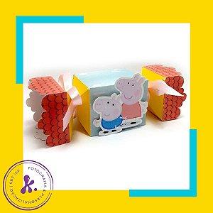 Caixa Bala Peppa Pig com aplique 3D