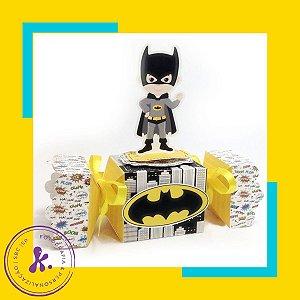 Caixa Bala Super Herois Cute com aplique 3D