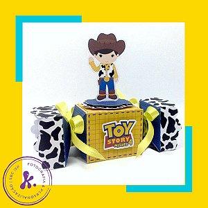 Caixa Bala Toy Story com aplique 3D