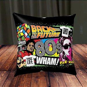 Almofada Personalizada para Festa Anos 80