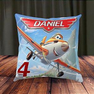Almofada Personalizada para Festa Aviões da Disney