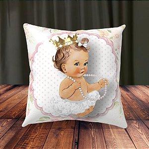 Almofada Personalizada para Festa Princesa Bebe