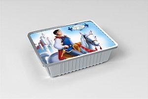 Marmitinha  personalizada Principe da Branca de Neve