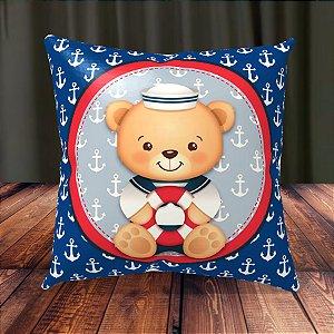 Almofada Personalizada para Festa Ursinho Marinheiro
