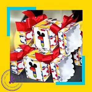 Caixa bala Mickey 2 com aplique 3D