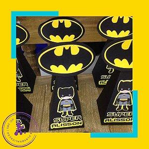 Caixa cone Batman 2 com aplique 3D