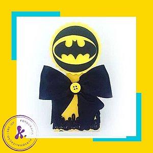 Caixa Cone Batman com apliques 3D