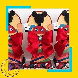 Caixa Cone Mickey 2 com apliques 3D