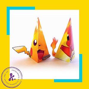 Caixa Cone Pokemon 3 com aplique 3D