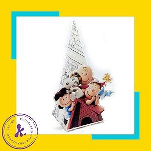 Caixa Cone Snoopy 1 com aplique 3D