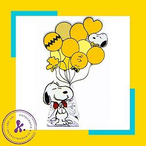 Caixa Cone Snoopy 2 com aplique 3D