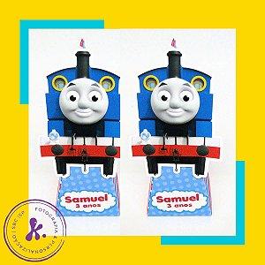 Caixa Cone Thomas e Seus Amigos com aplique 3D