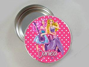 Embalagem com 20 adesivos Barbie