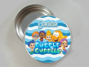 Embalagem com 20 adesivos Bubble Guppies