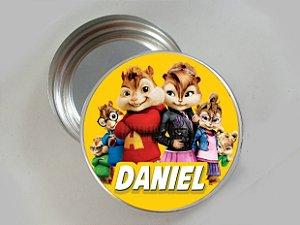 Embalagem com 20 adesivos Alvin e os Esquilos