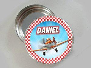 Embalagem com 20 adesivos Avioes da Disney 002