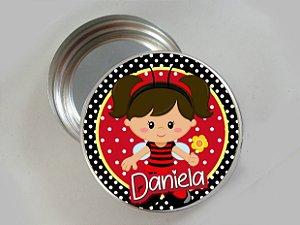 Embalagem com 20 adesivos Joaninha 002