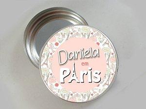 Embalagem com 20 adesivos Paris