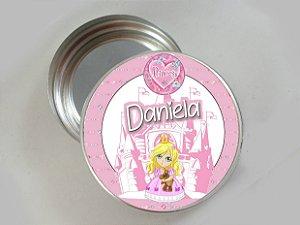 Embalagem com 20 adesivos Princesa