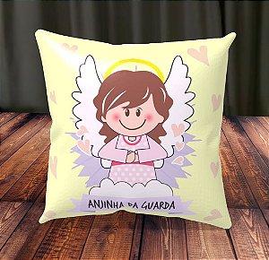 Almofada Personalizada para Festa Anjinha da Guarda