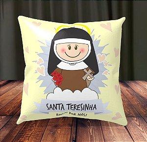 Almofada Personalizada para Festa Santa Teresinha