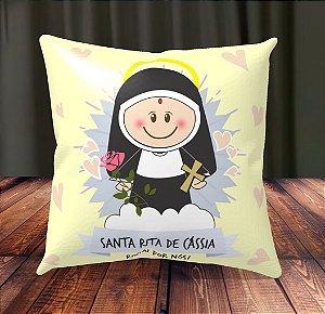 Almofada Personalizada para Festa Santa Rita