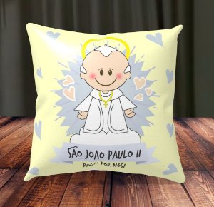 Almofada Personalizada para Festa São João Paulo II