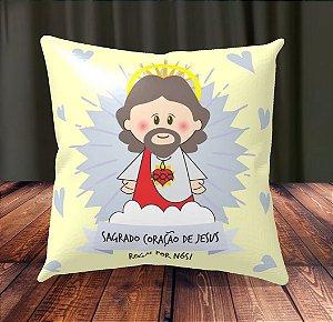 Almofada Personalizada para Festa Sagrado Coração de Jesus