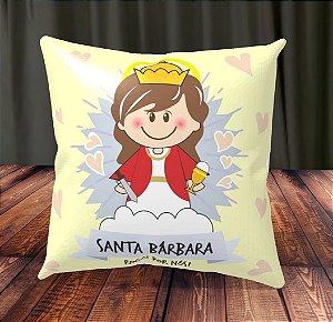 Almofada Personalizada para Festa Santa Bárbara