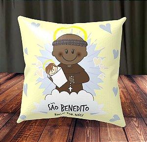 Almofada Personalizada para Festa Santo Benedito