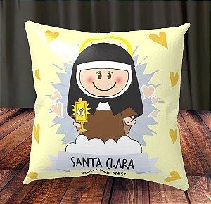 Almofada Personalizada para Festa Santa Clara