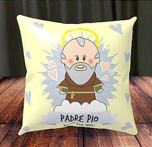 Almofada Personalizada para Festa Padre Pio