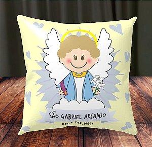 Almofada Personalizada para Festa São Gabriel Arcanjo