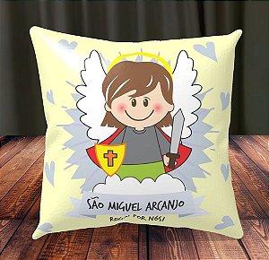 Almofada Personalizada para Festa São Miguel Arcanjo