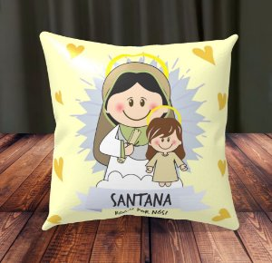 Almofada Personalizada para Festa Santana