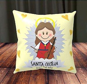 Almofada Personalizada para Festa Santa Cecília