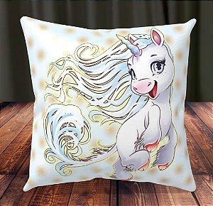 Almofada Personalizada para Festa Unicornio