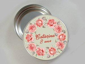 Embalagem com 20 adesivos com Flores 009