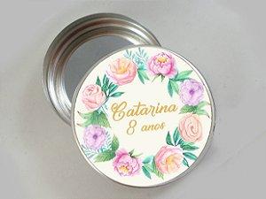 Embalagem com 20 adesivos com Flores 005