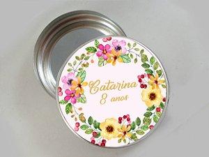 Embalagem com 20 adesivos com Flores 003