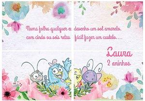 Painel personalizado Galinha Pintadinha Aquarela