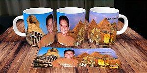 Caneca personalizada Egito