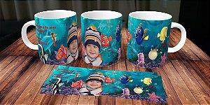 Caneca personalizada Procurando Nemo