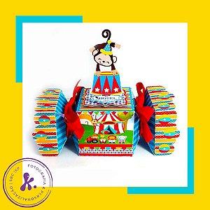Kit com 8 caixinhas Circo