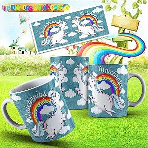 Caneca unicornio 005