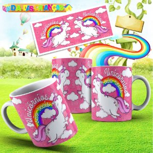 Caneca unicornio 006