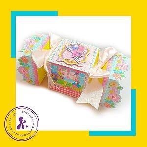 Kit com 8 caixinhas Galinha Pintadinha Rosa