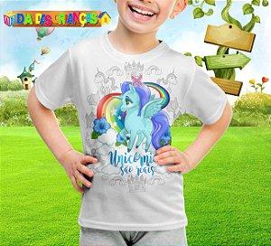 Camiseta Infantil Unicornio 002