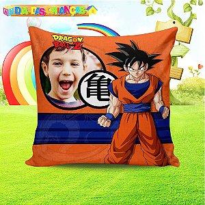 Almofada quadrada Dragon Ball Z 2 com foto