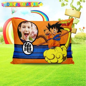 Almofada retangular Dragon Ball Z 1 com foto